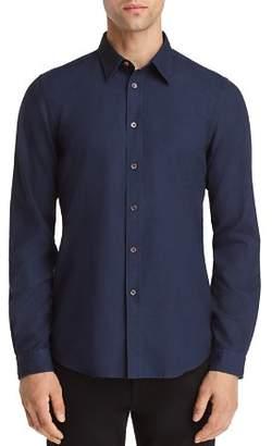 Paul Smith Tonal Micro-Plaid Regular Fit Sport Shirt