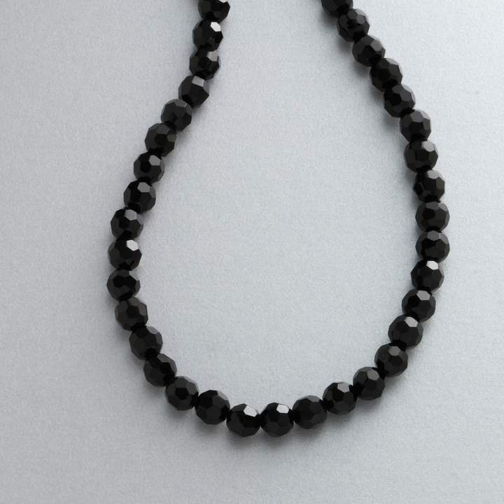 1928® Jet-Tone Black Bead Necklace