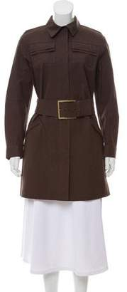 Louis Vuitton Belted Knee-Length Coat