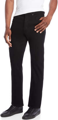 Cheap Monday Black In Law Mid-Rise Tapered Cropped Jeans