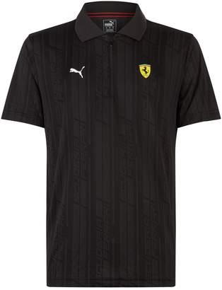 Puma Ferrari Jacquard Polo Shirt