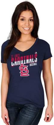Majestic Women's St. Louis Cardinals Crank Up Tee