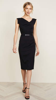e72e4dbc2e7 Black Halo Jackie O Belted Dress