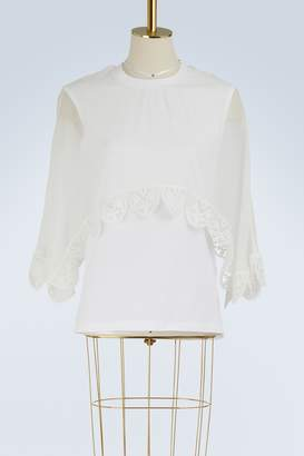 Chloé Silk cape T-shirt
