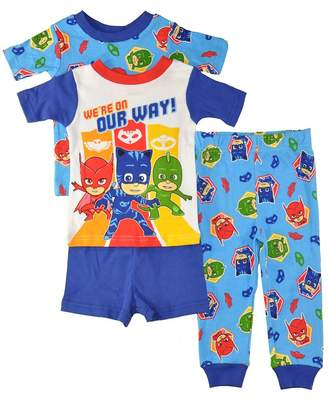 PJMASKS PJ Masks Little Boys 4pc Snug Fit Pajama Set