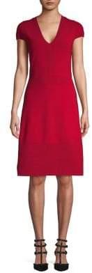 MICHAEL Michael Kors Textured A-Line Dress