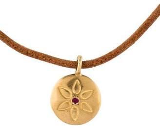 Me & Ro Me&Ro Lotus Pendant Necklace