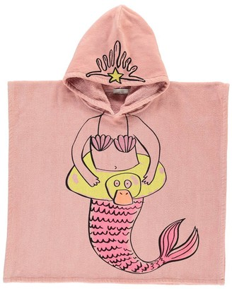 STELLA MCCARTNEY KIDS Bobo Mermaid Bath Cape $118.80 thestylecure.com