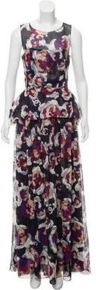 Chanel Silk Maxi Dress w/ Tags