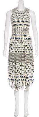 Ulla Johnson Printed Silk Dress