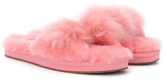 UGG Mirabelle fur slipper