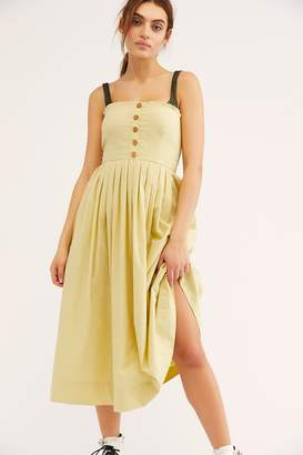 Lilah Pleated Tube Dress