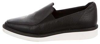 Max MaraMaxMara Leather Pointed-Toe Flats
