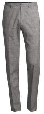 Theory Regular-Fit Marled Mayer Wool Suiting Pants