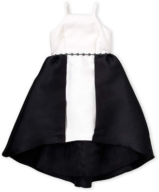 07fb26f430 Badgley Mischka Belle Girls 7-16) Color Block Hi-Low Dress
