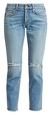 Rag & Bone Women's Dre Low-Rise Slim Boyfriend Jeans