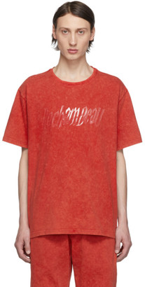 Rochambeau Orange Yves Scherer Edition Rubber Logo T-Shirt