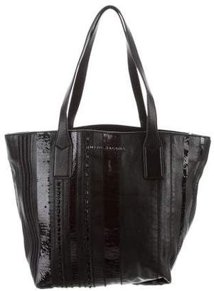 Marc Jacobs Leather Sequin Tote