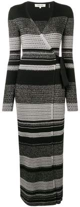 Diane von Furstenberg knitted wrap dress