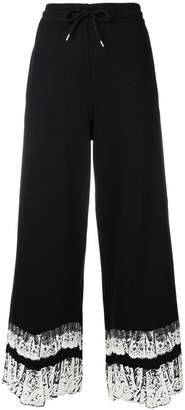 McQ cropped loose fit trousers