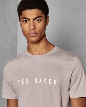 Ted Baker LOGO Branded cotton T-shirt