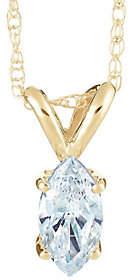 Affinity Diamond Jewelry Marquise Diamond Pendant,14K Yellow Gold 1/2 cttw, byAffinity