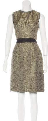 Milly Metallic Tweed Dress