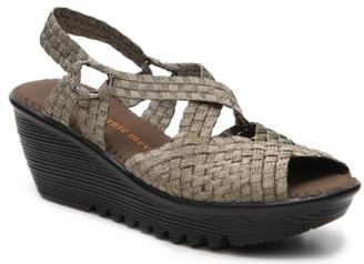 Bernie Mev Lexa Wedge Sandal $78 thestylecure.com
