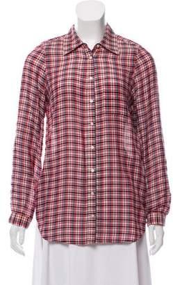 Joie Plaid Long Sleeve Shirt