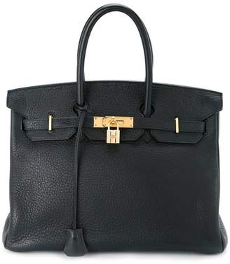 Hermes Pre-Owned Birkin 35 Taurillon Clemence tote bag