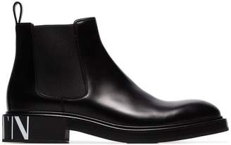 Valentino Beatle leather chelsea boots