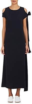 Helmut Lang Women's Cutout-Shoulder Maxi Dress - Nav