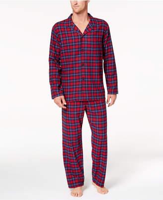 Club Room Men's Cotton Flannel Pajama Set