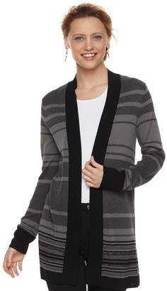 Apt. 9 Women's Striped Cardigan
