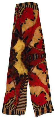 Christian Lacroix Printed Multicolor Scarf