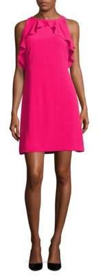 Jessica Simpson Solid Ruffled Sleeveless Dress $98 thestylecure.com