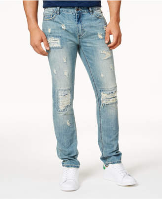 American Rag Men's Vintage Wash Distressed Jeans, Created for Macy's