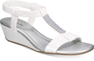 Alfani Women's Vacay Wedge Sandals, Created for Macy's