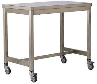 Design Within Reach Quovis Counter-Height Table, Silver
