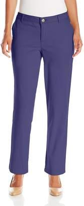 Lee Indigo Women's Petite Basic Twill Chino Pant with Coin Pocket