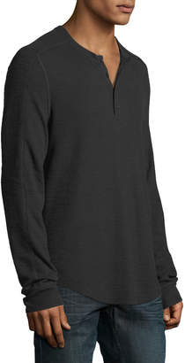 Vince Men's Long-Sleeve Henley T-Shirt