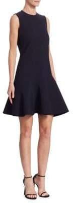 Victoria Beckham Victoria, Flounce-Hem Shift Dress