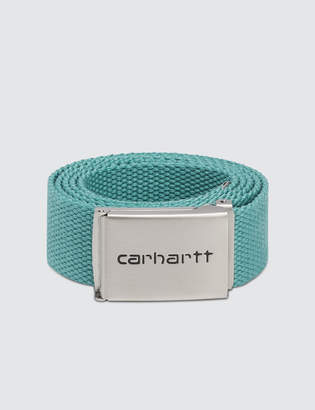 Carhartt Work In Progress Chrome Clip Belt