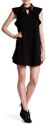 Gracia Jeweled Collar Dress $104 thestylecure.com