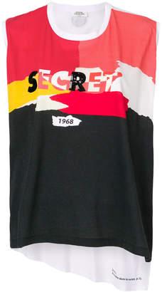Sonia Rykiel Secret printed shell top
