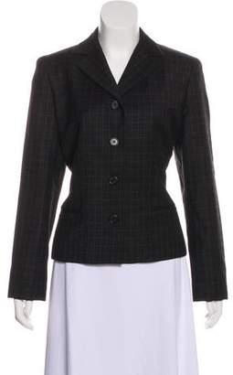 Lauren Ralph Lauren Striped Wool Blazer