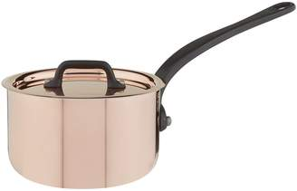 Mauviel Copper Saucepan and Lid (12cm)