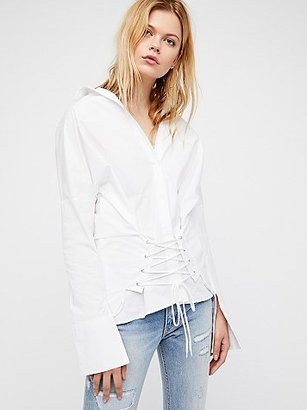 Corset Top by Style Mafia at Free People $105 thestylecure.com