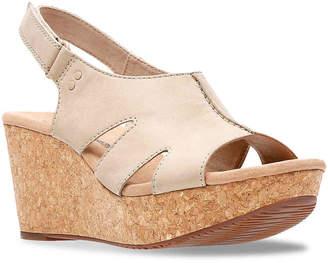 Clarks Annadel Bari Wedge Sandal - Women's