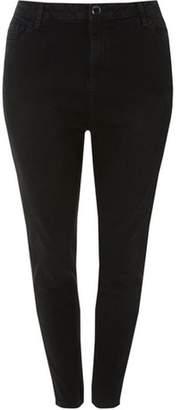 Dorothy Perkins Womens **Dp Curve Black 'Darcy' Skinny Fit Denim Ankle Grazer Jeans